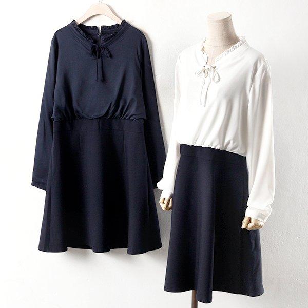 빅사이즈 프릴 도매 배송대행 미시옷 임부복