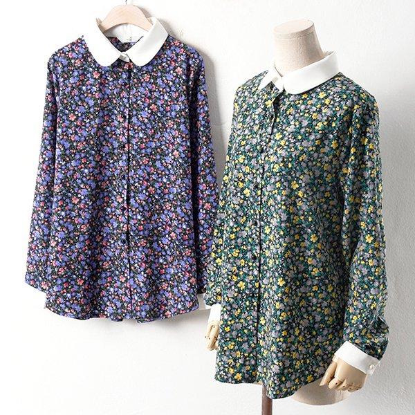 빅사이즈 진잔꽃 도매 배송대행 미시옷 임부복