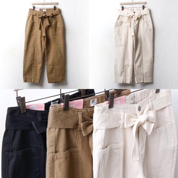 와이드 면리본 팬츠 CA3417M810  도매 배송대행 미시옷 임부복