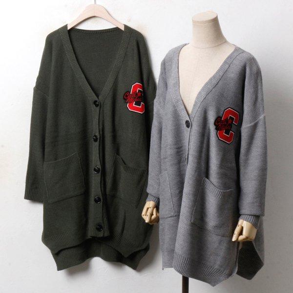 브이패치 롱가디건 EB3441M810  도매 배송대행 미시옷 임부복