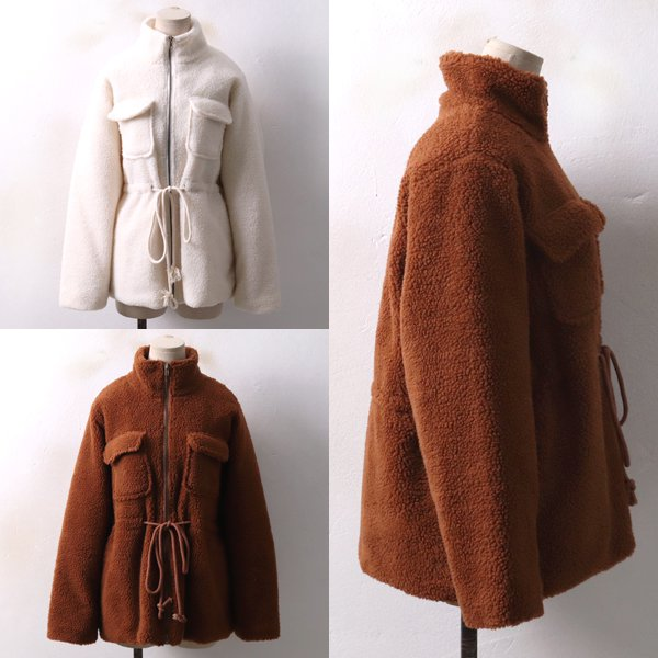 더블털 포켓 자켓 BA3940M812  도매 배송대행 미시옷 임부복