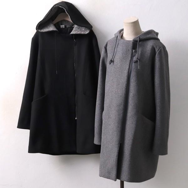 베이직누빔절개코트 BR3942M812  도매 배송대행 미시옷 임부복
