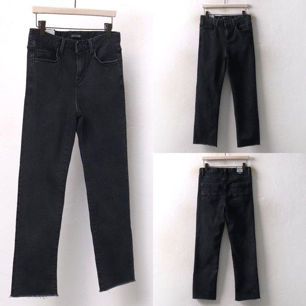스판면 블랙 일자진 LO3943M812  도매 배송대행 미시옷 임부복