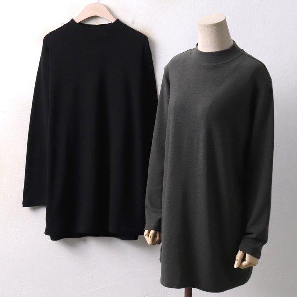 반넥 롱롱 티셔츠 PS3947M812  도매 배송대행 미시옷 임부복