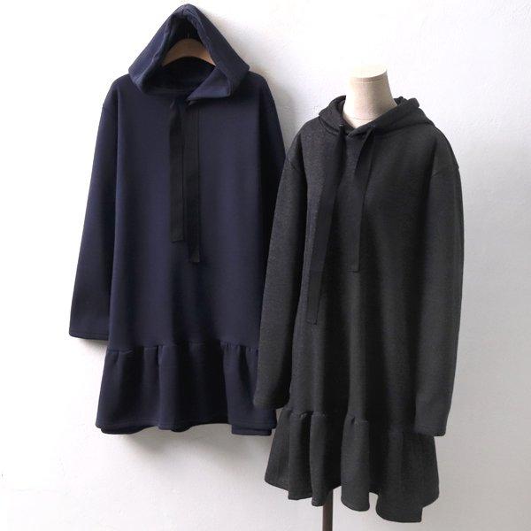 프릴후드기모원피스 BG3981M812  도매 배송대행 미시옷 임부복