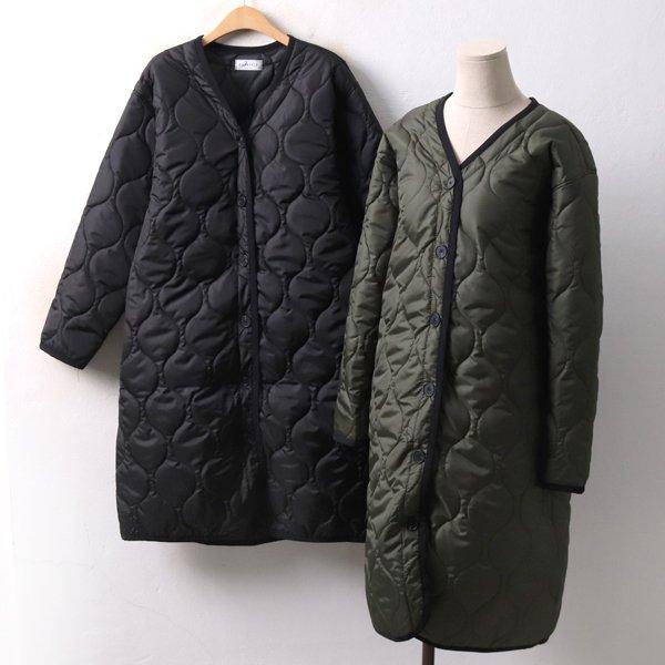 티어스 퀄팅 코트 DL3984M812  도매 배송대행 미시옷 임부복