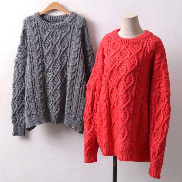 꽈베 꽈베 니트티 QM3992M812  도매 배송대행 미시옷 임부복