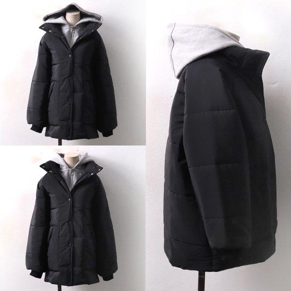 스포티 숏 패딩집업 GY3997M812  도매 배송대행 미시옷 임부복