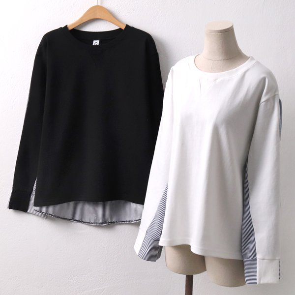 줄지코디 맨투맨 티 GO4403M902  도매 배송대행 미시옷 임부복