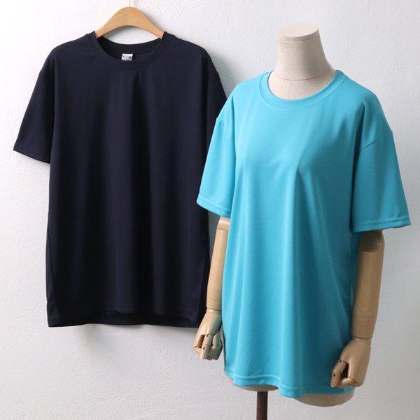 쿨링 라운드반팔티 PC4427M902  도매 배송대행 미시옷 임부복