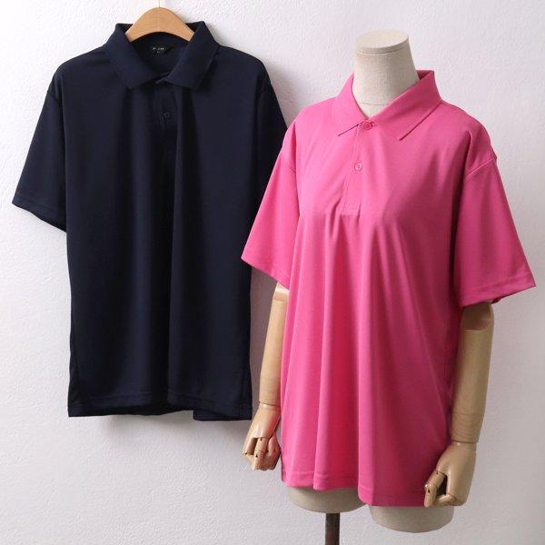 심플쿨카라 반팔티 PC4428M902  도매 배송대행 미시옷 임부복