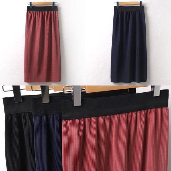 잔주름블링롱스커트 MS4460M902  도매 배송대행 미시옷 임부복