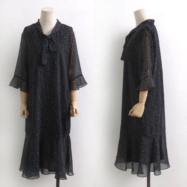 잔도트쉬폰롱원피스 BR5049M904  도매 배송대행 미시옷 임부복
