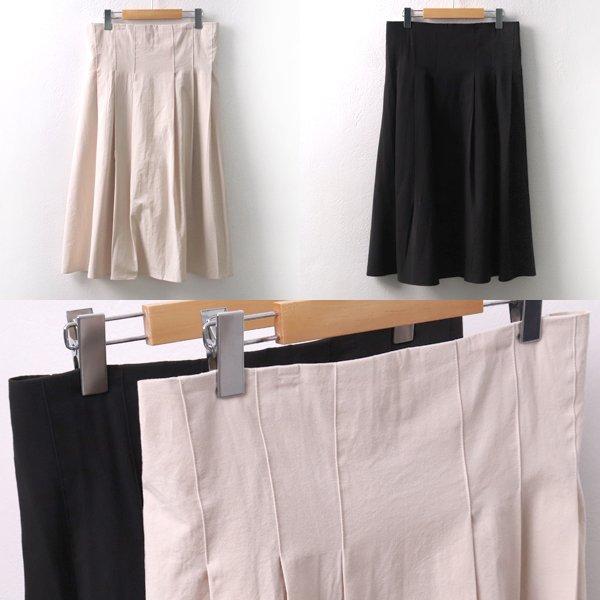 코튼뒷밴딩주름치마 MS5055M904  도매 배송대행 미시옷 임부복