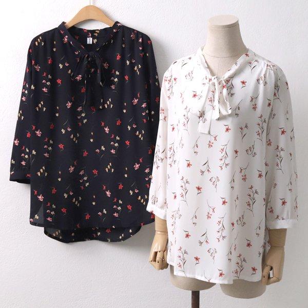 넥트임 꽃 블라우스 CO5061M904  도매 배송대행 미시옷 임부복
