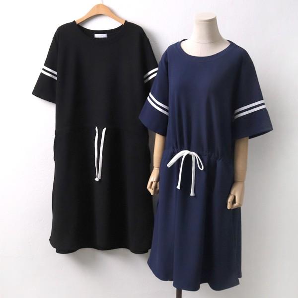 스포티 배색 원피스 ZY5064M904  도매 배송대행 미시옷 임부복