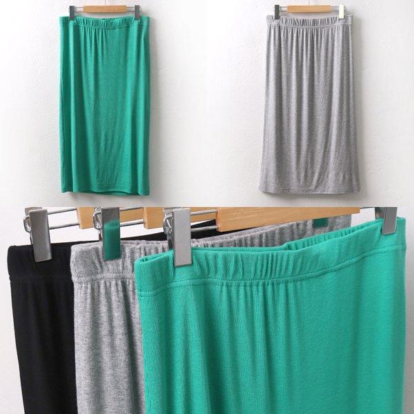 스판 골지 롱스커트 MS5302M905  도매 배송대행 미시옷 임부복