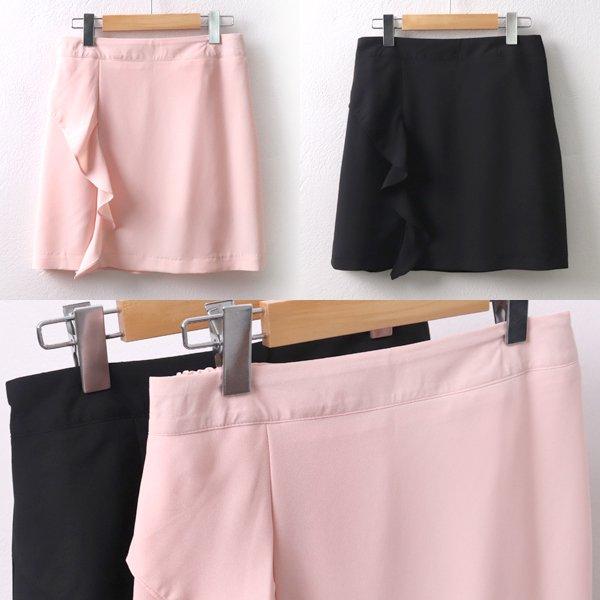 물결셔링미니스커트 CR5392M905  도매 배송대행 미시옷 임부복