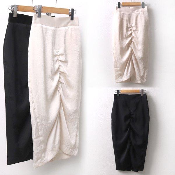 백셔링포인트스커트 MO5409M905  도매 배송대행 미시옷 임부복