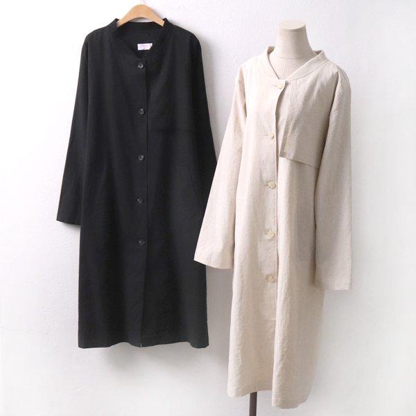 린넨심플롱점퍼 CH5458M905  도매 배송대행 미시옷 임부복