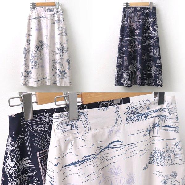 트레벌A라인스커트 MO5563M906  도매 배송대행 미시옷 임부복