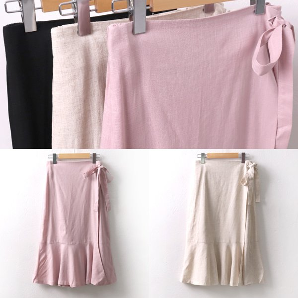 멜로디린넨랩스커트 LT5641M906  도매 배송대행 미시옷 임부복