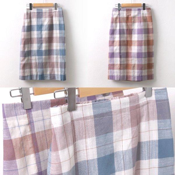 비올라체크스커트 CR5695M906  도매 배송대행 미시옷 임부복