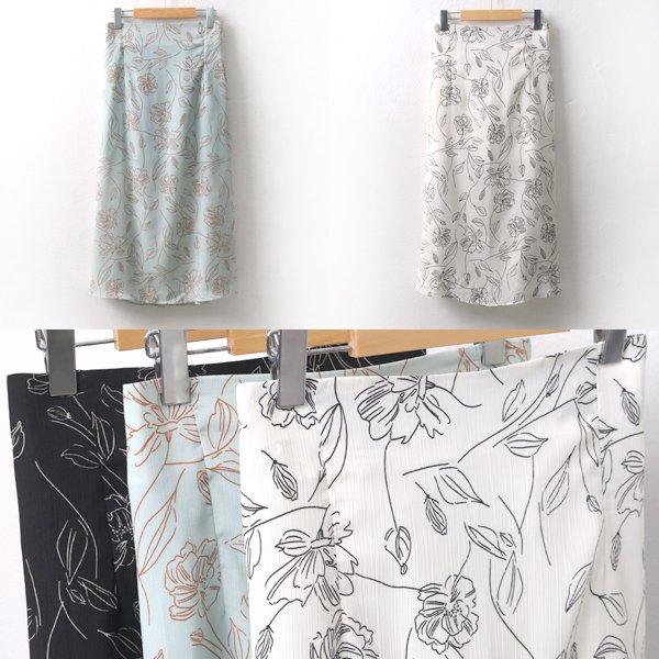 졸리플라워스커트 LT5957M907  도매 배송대행 미시옷 임부복