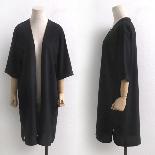 오픈무지블랙자켓 BG5969M907  도매 배송대행 미시옷 임부복