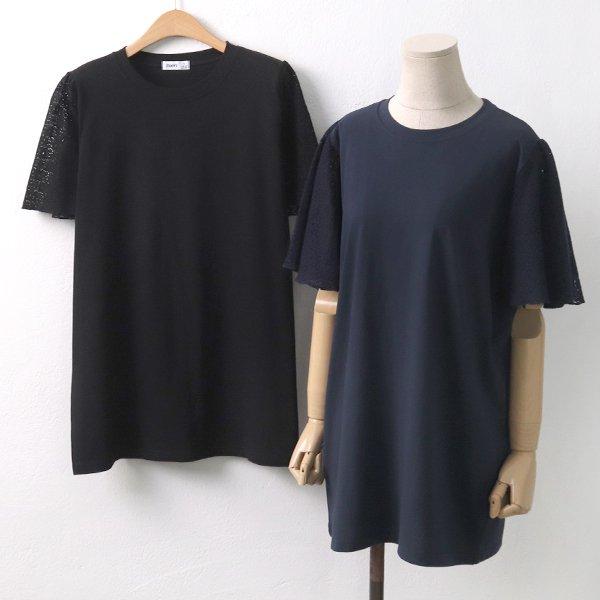버터플라이반팔티 RI5976M907  도매 배송대행 미시옷 임부복