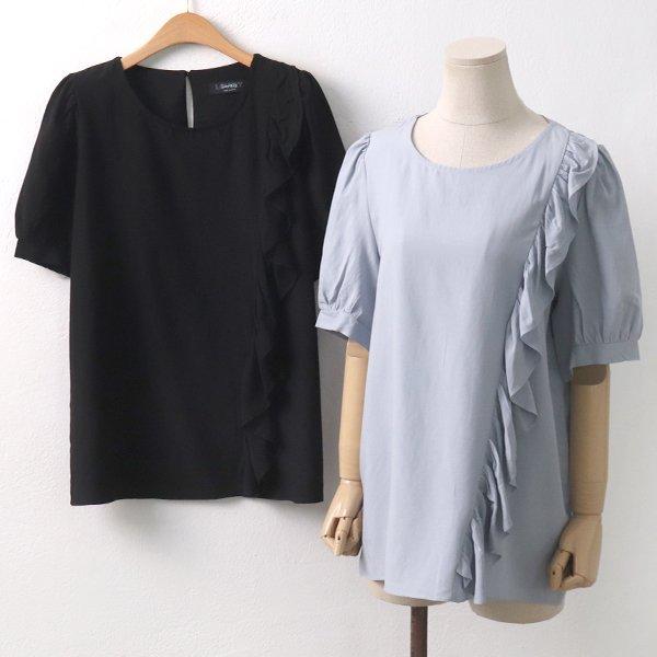 원프릴블라우스 LY5990M907  도매 배송대행 미시옷 임부복