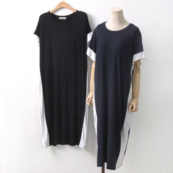 착시슬림롱원피스 NB6009M907  도매 배송대행 미시옷 임부복