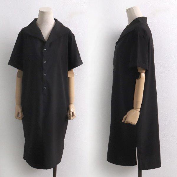 오픈카라모던원피스 BG6025M907  도매 배송대행 미시옷 임부복