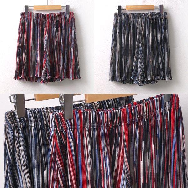 펄플리츠치마반바지 ZY6028M907  도매 배송대행 미시옷 임부복