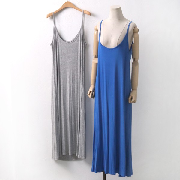 쫀쫀쿨나시롱원피스 RA6039M907  도매 배송대행 미시옷 임부복