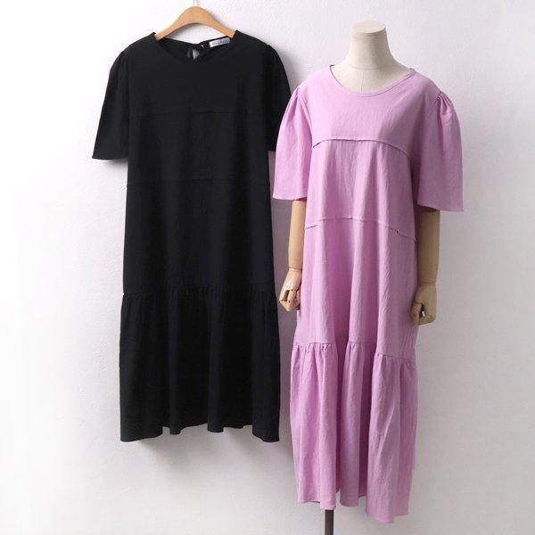 셔링핀턱롱원피스 YP6257M908  도매 배송대행 미시옷 임부복