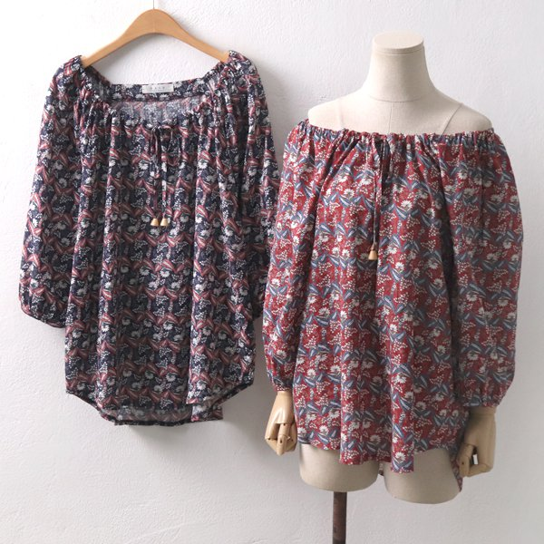 오픈베네사블라우스 PE6268M908  도매 배송대행 미시옷 임부복