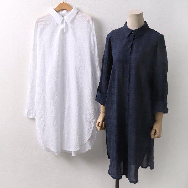 포시즌롤업롱남방 DD6283M908  도매 배송대행 미시옷 임부복