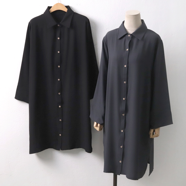 시크쉬폰셔츠롱남방 EB6311M908  도매 배송대행 미시옷 임부복
