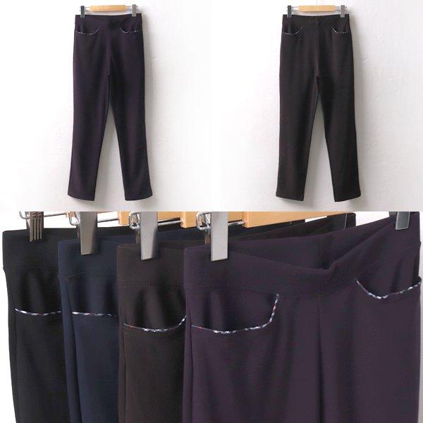 베이직밴드스판바지 TK6520M909  도매 배송대행 미시옷 임부복