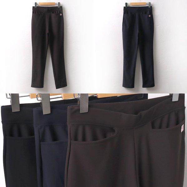 와펜밴딩쭉스판바지 TK6521M909  도매 배송대행 미시옷 임부복