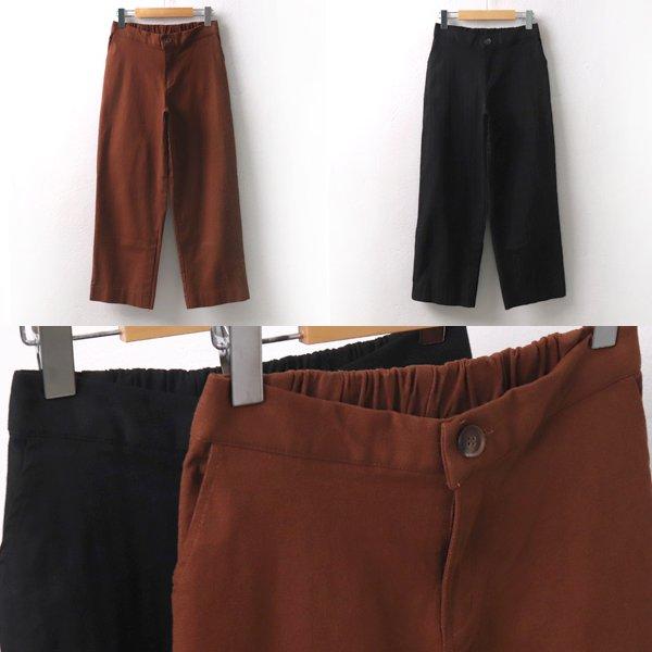 뒷밴딩원버튼통팬츠 MD6562M909  도매 배송대행 미시옷 임부복