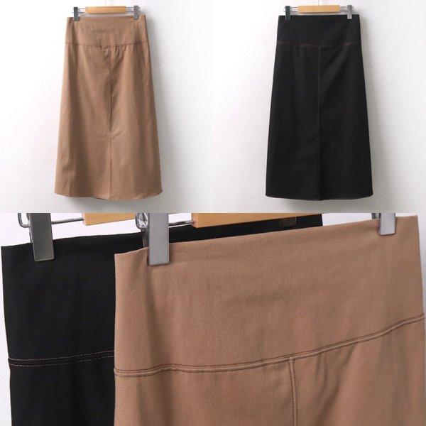 스티치절개롱스커트 CH6563M909  도매 배송대행 미시옷 임부복