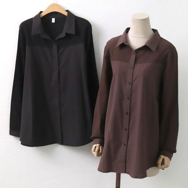 파베 자수 블라우스 DB6702M909  도매 배송대행 미시옷 임부복