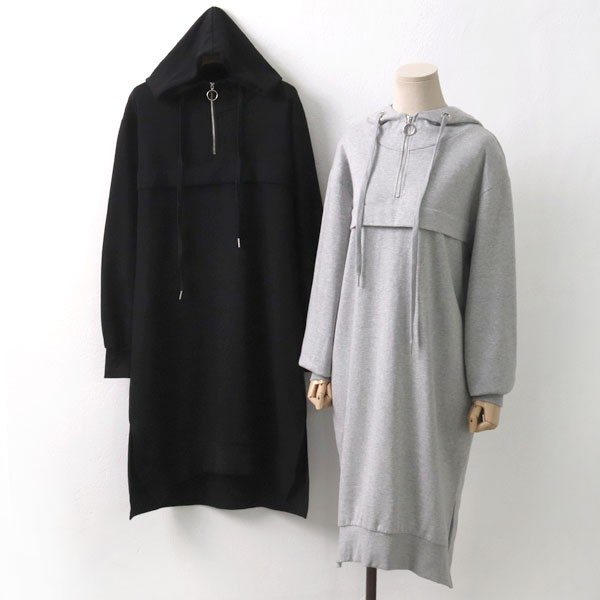 원고리후드롱원피스 GO6737M910  도매 배송대행 미시옷 임부복