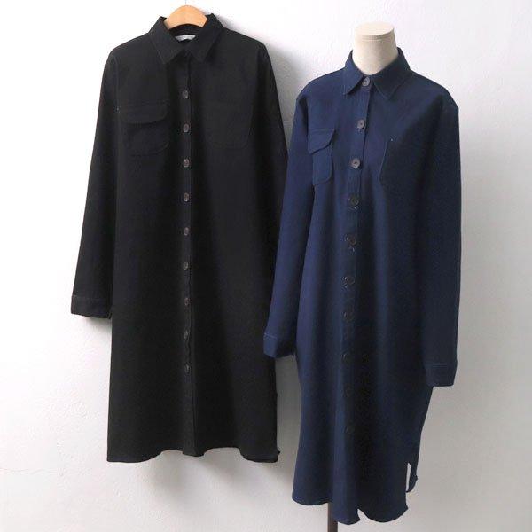 편안한스판청원피스 BN6762M910  도매 배송대행 미시옷 임부복