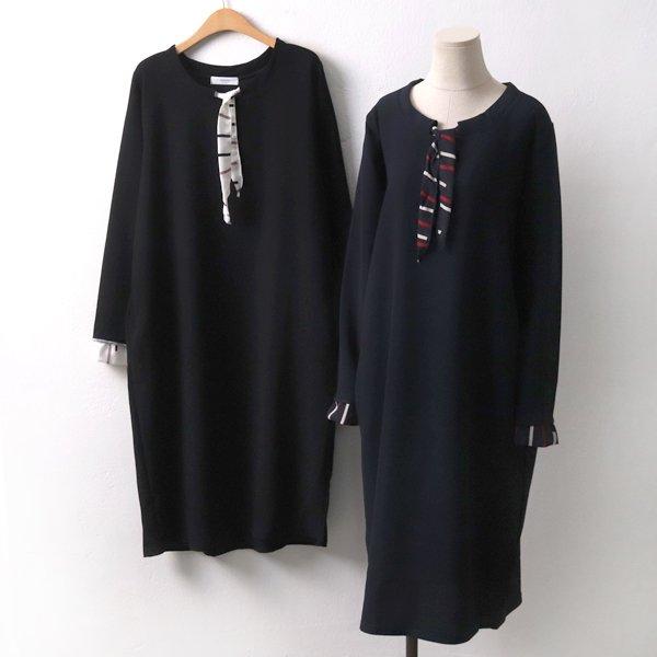 스카프라인원피스 BE6827M910  도매 배송대행 미시옷 임부복