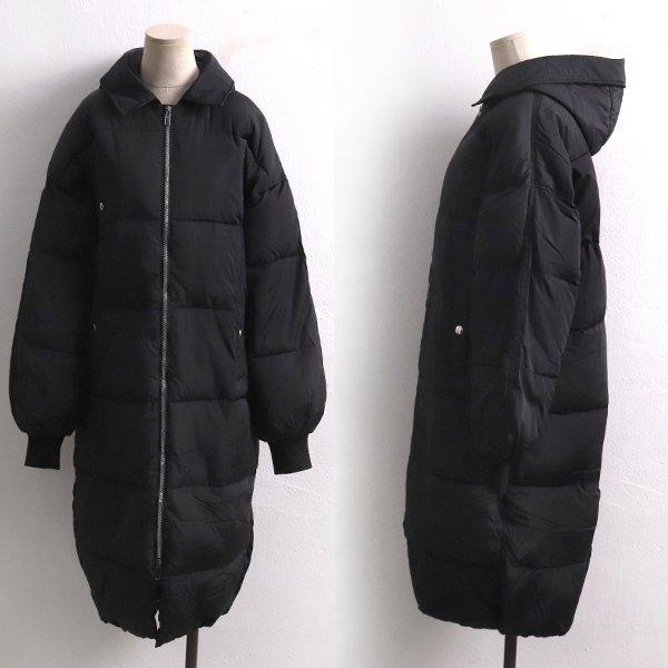시크블랙 포켓 패딩 TW6866M912  도매 배송대행 미시옷 임부복