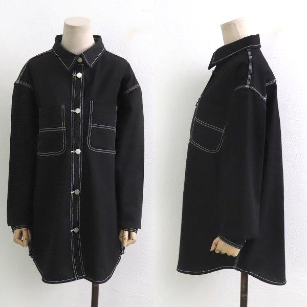 블랙스티치코튼자켓 GY6902M910  도매 배송대행 미시옷 임부복