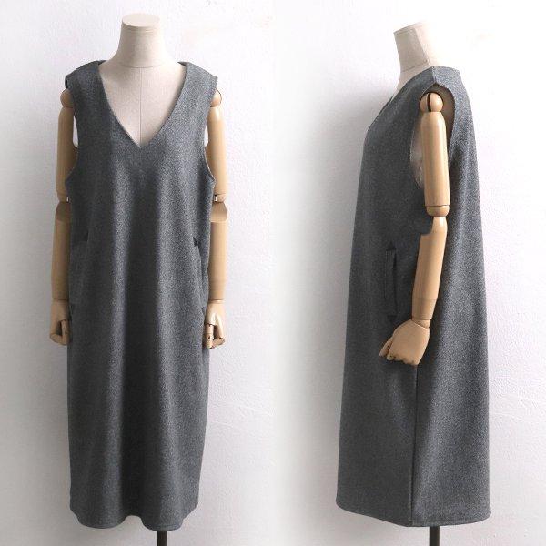 딥브이조끼원피스 BG7212M911  도매 배송대행 미시옷 임부복